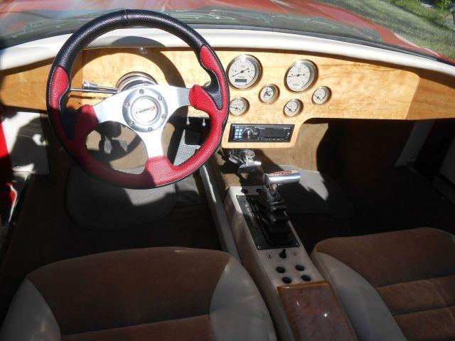1968 Jaguar E-Type custom dash