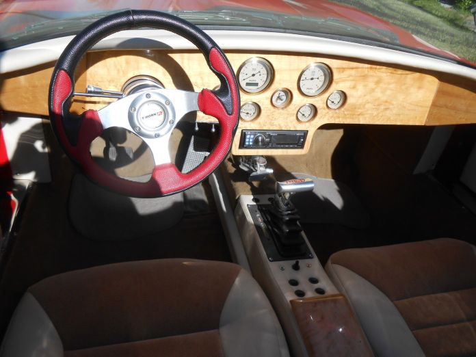 1968 Jaguar E-Type custom dash