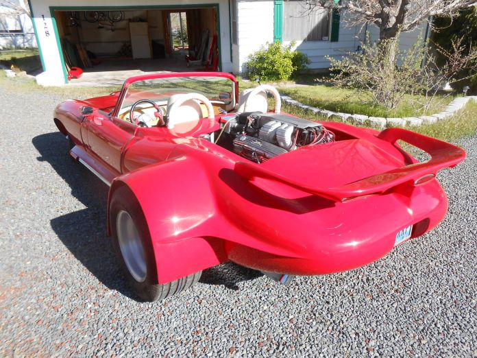 WTF 1968 Jaguar E-Type rear