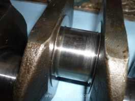 MGB 18V engine crankshaft with light scoring