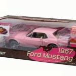 Greenlight Pink Playboy Ford Mustang
