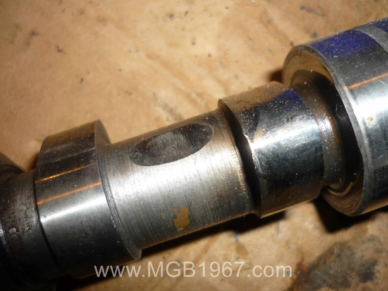 1972 MGB camshaft lobe wear
