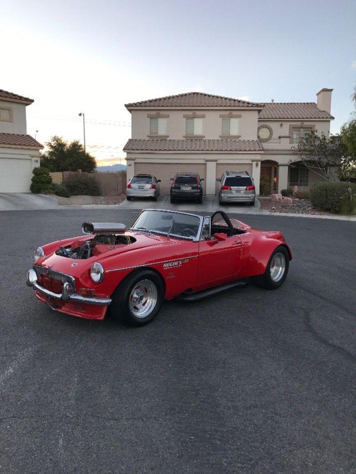 1969 MG MGB Custom convertible with Corvette engine