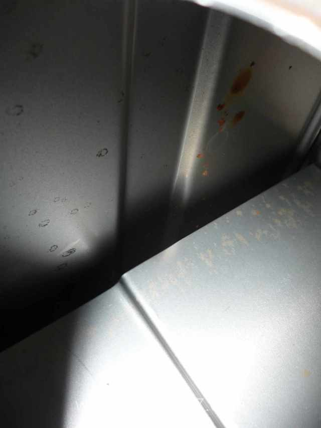 Rust inside the MGB gas tank