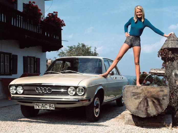 1968 Audi 100 Sedan gal