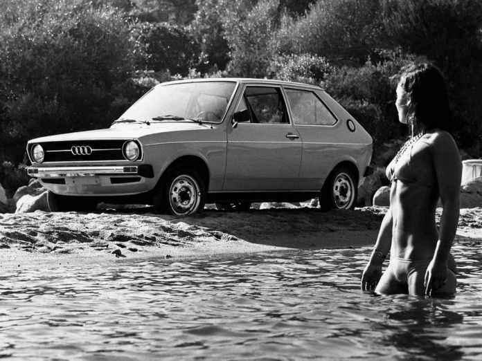 Audi 50 girl in bikini