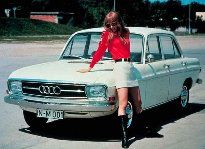 Audi 60 chick