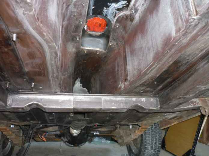 Cleaned MGB undercarriage, more work to do
