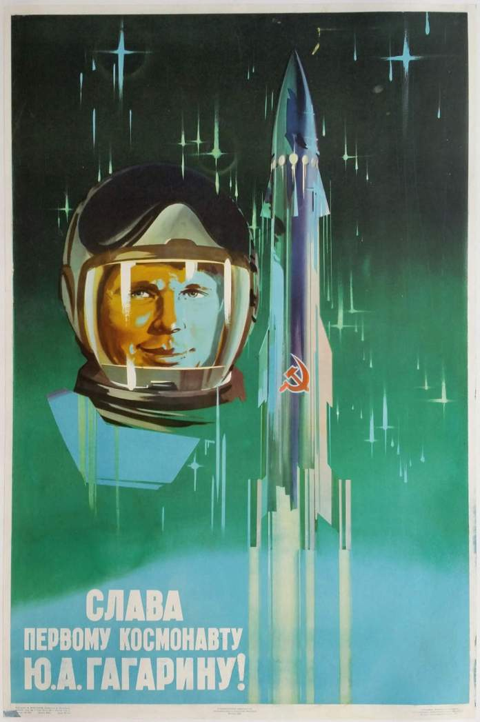 Glory to the first cosmonaut