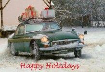 Happy Holidays MGB GT