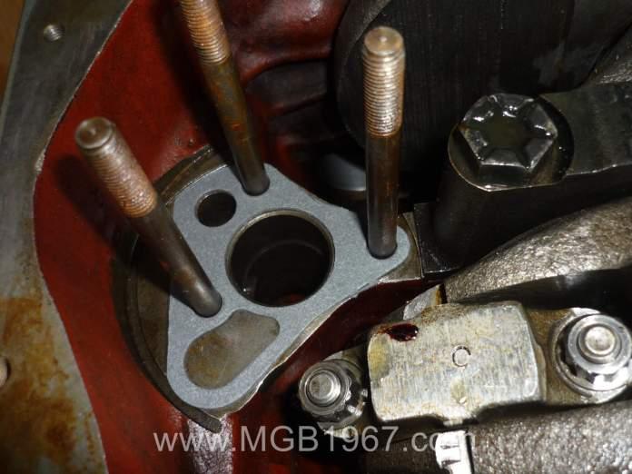 MGB 5 main oil pump gasket