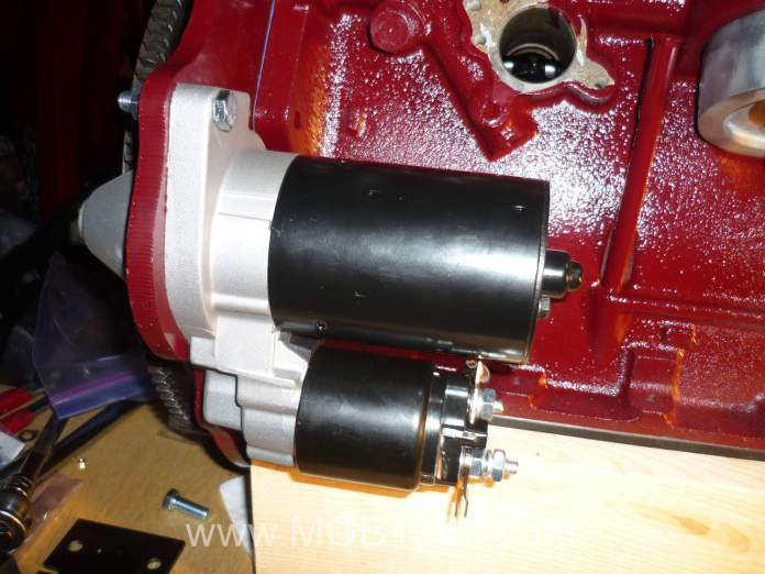 New high torque starter for the MGB engine