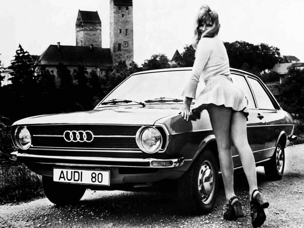 Audi has good looking girls