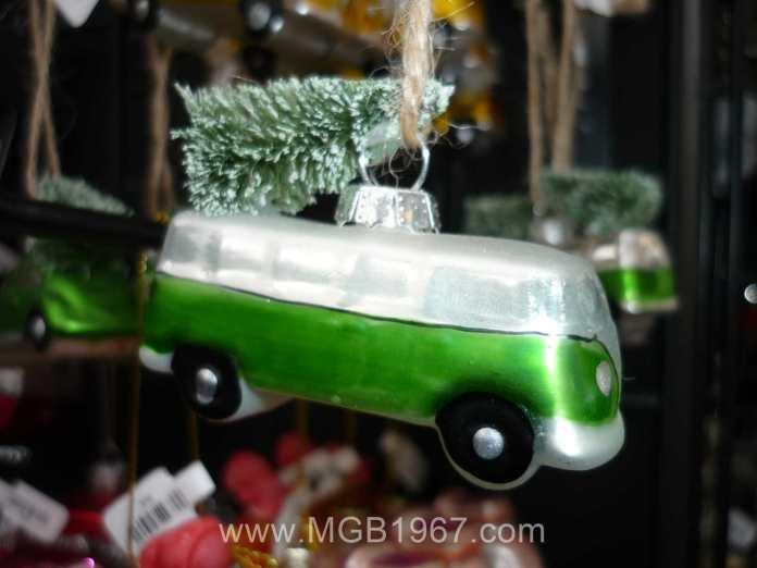 VW Van Christmas ornament