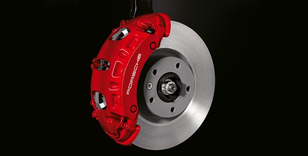 Porsche brake caliper