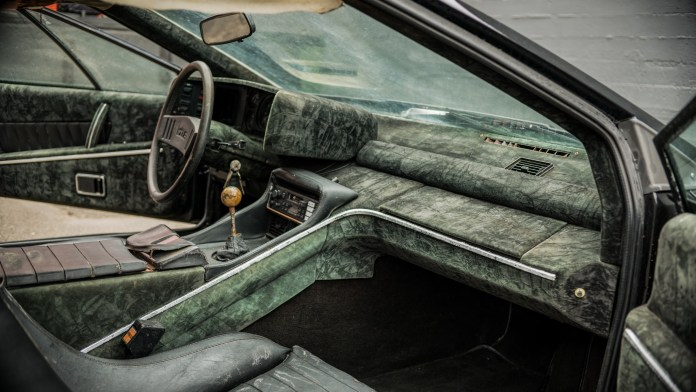 1978 Lotus Esprit ratty interior