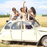 Citroen 2CV girls