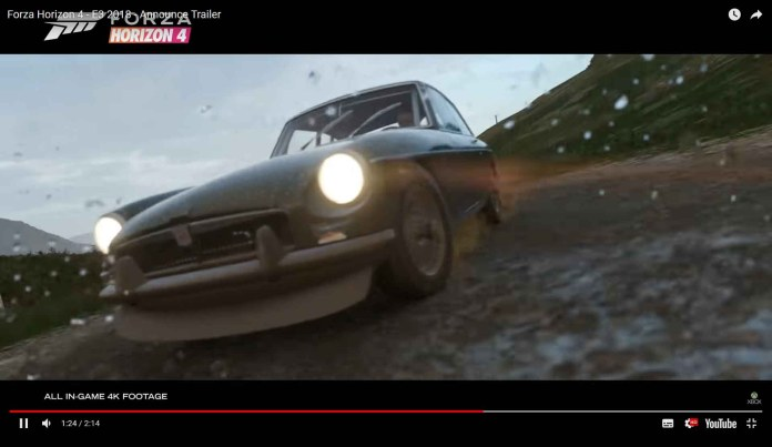 Forza Horizon 4 MGB GT