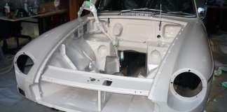 Sandy beige 1967 MGB GT