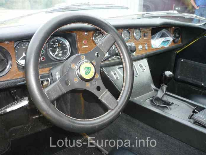 Lotus Europa S2 interior