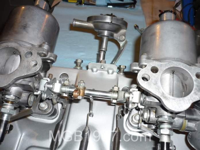 MGB GT carburetor
