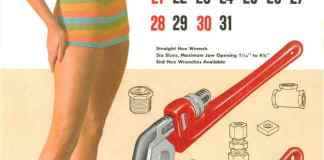 Ridgid Hex Wrenches pinup chick