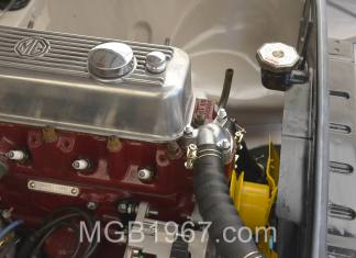 MGB GT engine cooling