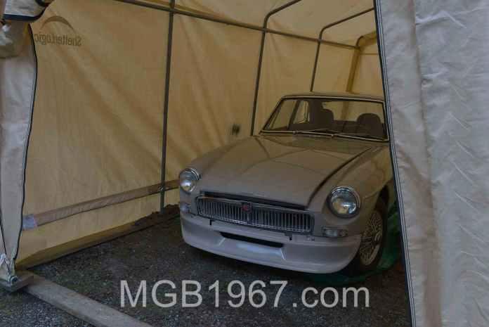 MGB GT project