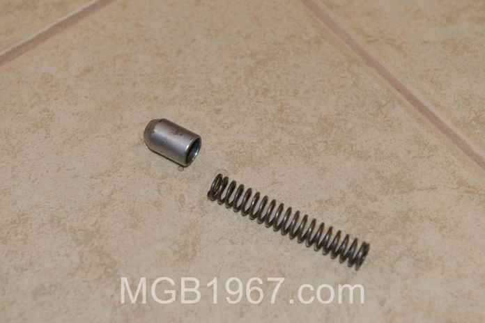 MGB pressure relief valve