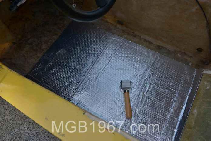 Noico 80 mil car sound deadening mat installation