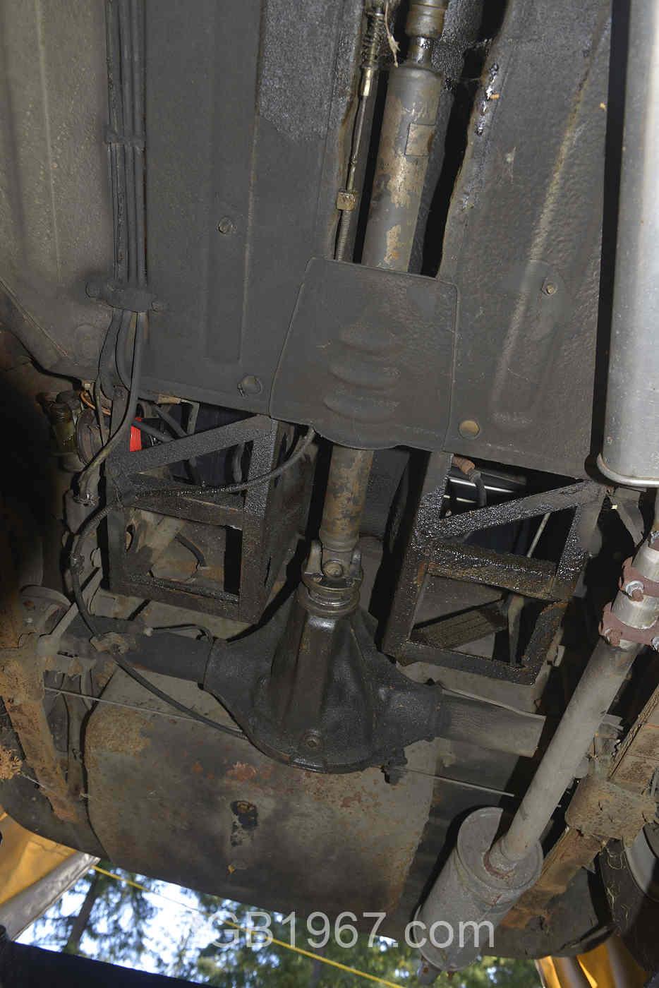 MGB drive shaft phasing