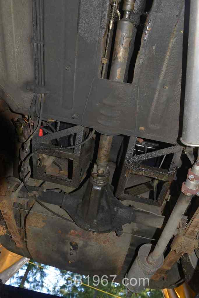 MGB GT driveshaft