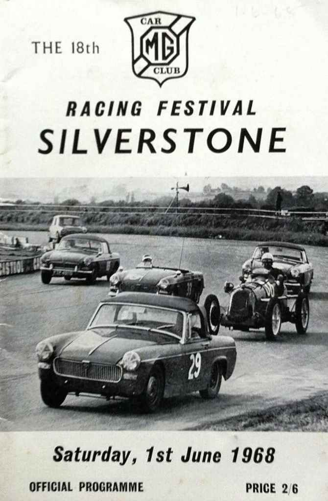 MG Racing Festival at Silverstone