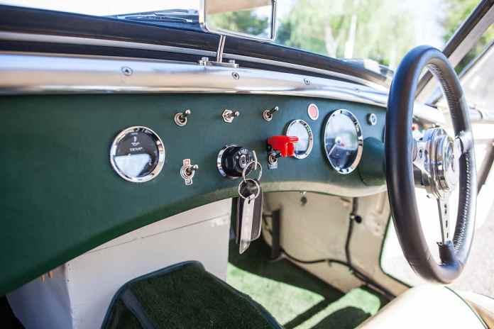 1962 MG Lenham GT Tribute dash