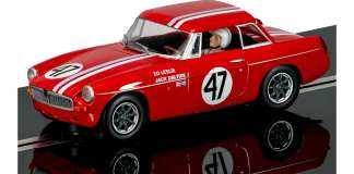 Scalextric MGB Touring Car slot car