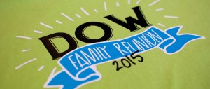 Custom Full-Color Heat Transfer Designs on T-Shirts for Family Reunion