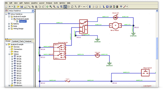 electrical wiring design software  circuit diagram symbols •