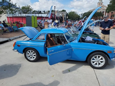 '72 B of Dale Schiller from Katy, Texas at GOF Show with Hardtop from England