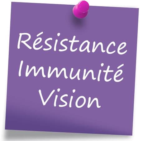 Les compléments alimentaires résistance, immunité et vision