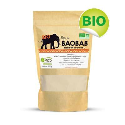 Pulpe de baobab bio