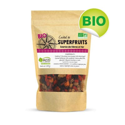 Cocktail Superfruits bio
