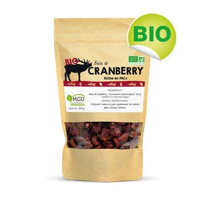 Cranberry bio (fruits secs)