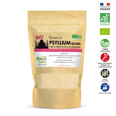 Psyllium blond bio _ MGD Nature
