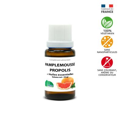 complément alimentaire pamplemousse propolis et huiles essentielles