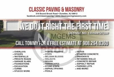 Classic Paving and Masonry (Back)