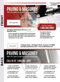 6.5x9 Paving and Masonry Postcard 001