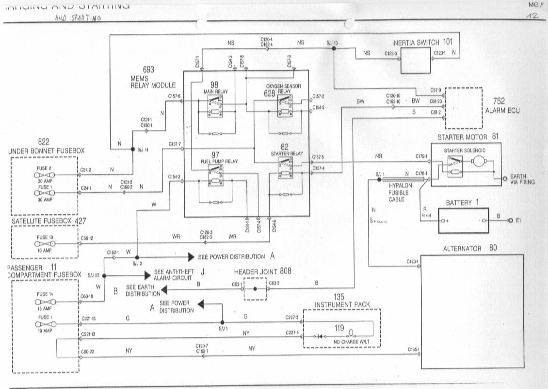 Mg Zr Alternator Wiring Diagram