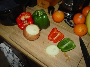 Peppers & Onion