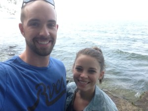 Lake Erie shore, precious.