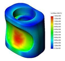 Una fase della progettazione meccanica degli utensili MGF: lo studio delle forze sulla curvatubi